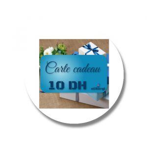 Carte cadeau - Recharge 10 DH par paypal