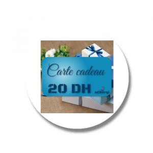 Carte cadeau - Recharge 20 DH par paypal