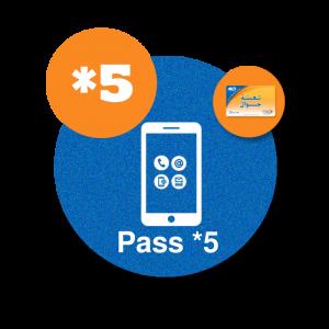 recharge  iam en ligne maroc telecom par paypal Pass Jawal *5