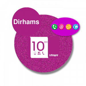 Recharge inwi Dirhams 20DH