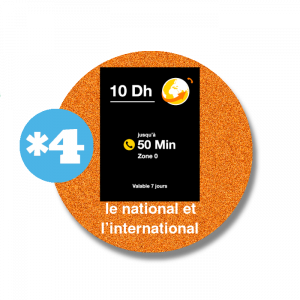 recharge en ligne Orange  vers le national et l'international *4 par paypal