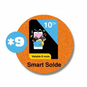 recharge en ligne Orange Smart Solde 10DH par paypal