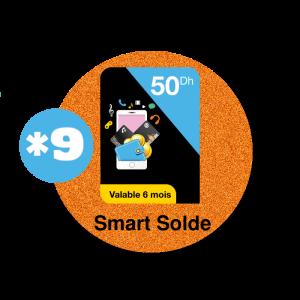 recharge en ligne Orange Smart Solde 50 DH par paypal