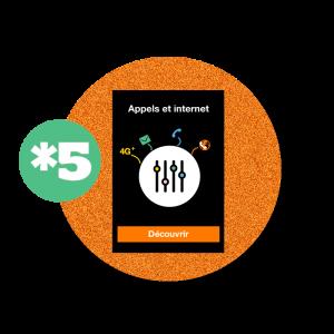 recharge en ligne Orange Recharge tout en un : *5 par paypal