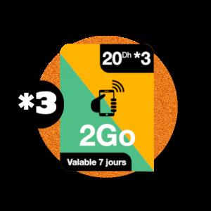 recharge en ligne Orange Internet par paypal  - 20 DH