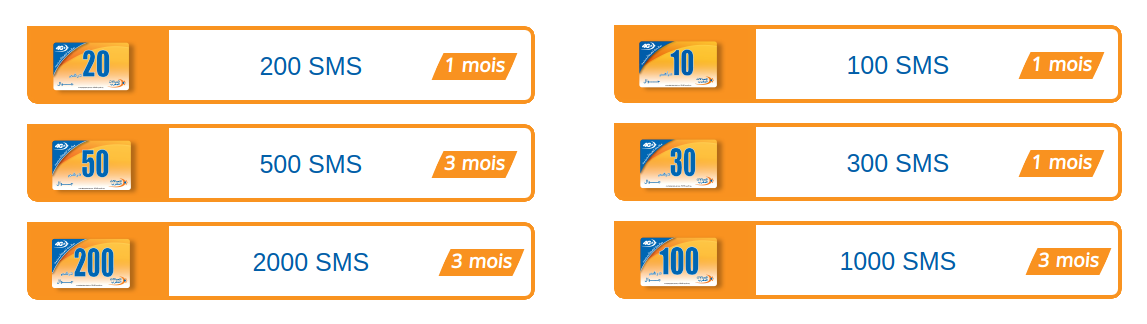 recharge sms maroc telecome